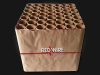 Professional fireworks cakebox of Red Wire, available and to order at Xena Vuurwerk BV - Holland