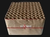 Massive 100 shots professional fireworks battery with green peonie combined with ti flower time rain willows - Red Wire fireworks