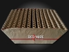 Professional fireworks cakebox of Red Wire, distributed by Xena Vuurwerk BV form The Netherlands