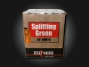 RedWire 20 shots F2 cakebox with green crossettes effect. Order online at Xena Vuurwerk - professional fireworks supplier from Holland