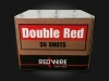 RedWire 36 shots F2 cakebox with red mines and peonies. Order online at Xena Vuurwerk - professional fireworks supplier from Holland