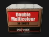 RedWire 36 shots F2 cakebox with multicolour mines and peonies. Order online at Xena Vuurwerk - professional fireworks supplier from Holland
