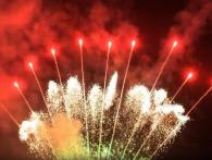 Range of F4 Single row cakes, available at Xena Vuurwerk from Holland - RedWire professional fireworks supplier