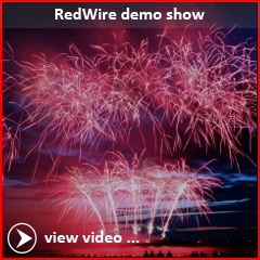 At the International Fireworks festival Scheveningen, Xena Vuurwerk performed a demoshow with RedWire Fireworks products
