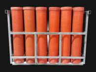 Xena Vuurwerk rental service for professional fireworks equipment such as mortar racks in different sizes