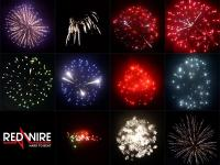 RedWire fireworks 3 inch shell assortment with 11 different effects. Distributed by professional fireworks supplier Xena Vuurwerk from Holland