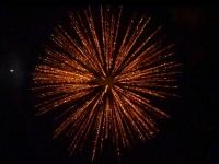 6 inch shell gold ti willow. Professional RedWire fireworks, distributed by Xena Vuurwerk BV - Holland