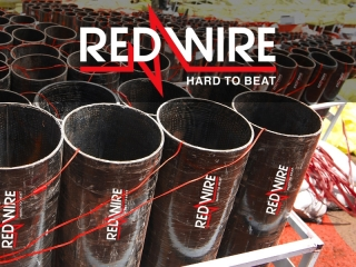 RedWire professional fireworks, available for pyrotechnic professional in Europe, distributed by Xena Vuurwerk form Holland
